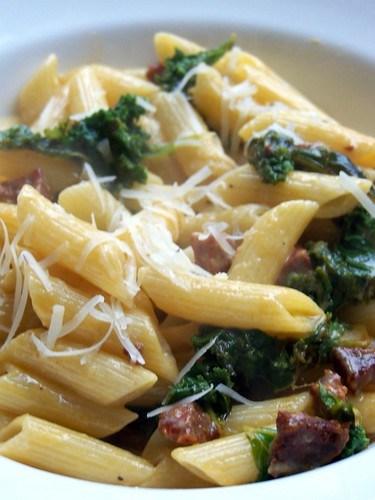 Chorizo & Kale Carbobanara