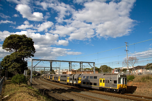 C-Set outside Campsie Station