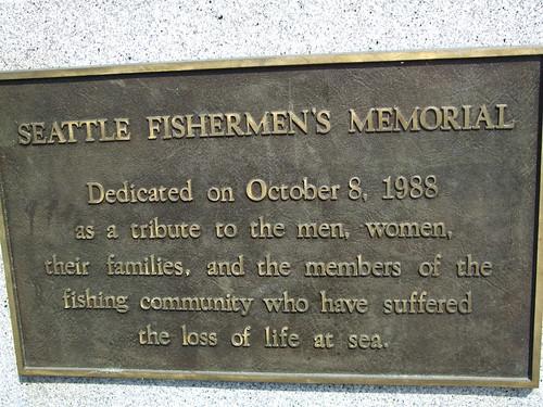 Fishermans Memorial dedication
