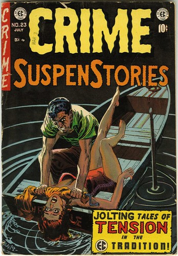 Asesinatos explicitos en portadas, todo este rollo se hubiera solucionado pidiendo a EC que pusiera su venta restringida a menores de 16 y san se acabó.