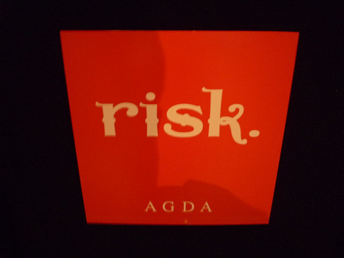 Risk: theme for AGDA 2008