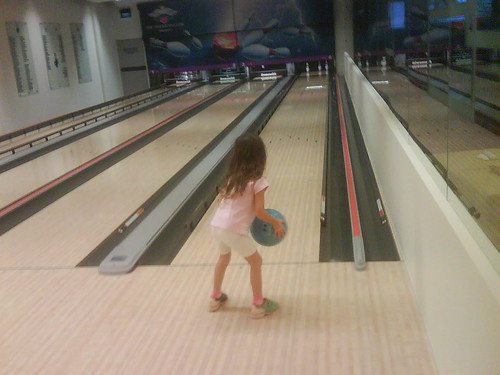 First Time Bowling