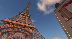 Eiffel Tower - Sacre Bleu - Second Life