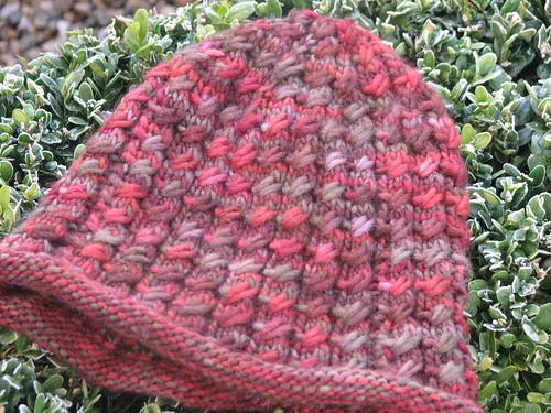 Dean Street Hat, Malabrigo Worsted, Stonechat