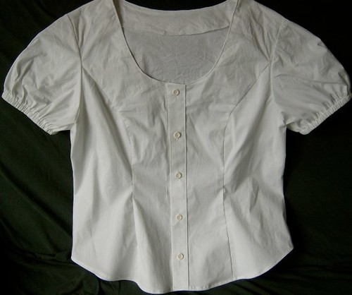 Puffed Sleeve Shirt