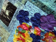 Hawaii by Lori Wilson, The Fabric Stalkers May Gallery Exhibit @Quiltworks