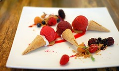 Trio of Berry Sorbets