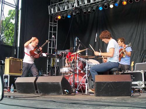 Caribou @ Pitchfork 2008, Chicago 07/19/08