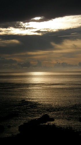 53.金黃的日出灑落海面 (8)