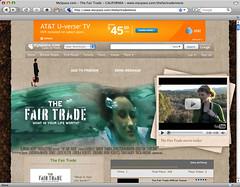 The Fair Trade movie at myspace.com screenshot