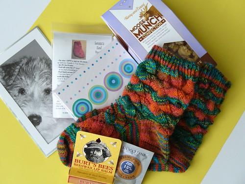 Knitty Sock Swap