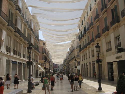 Malaga centrum