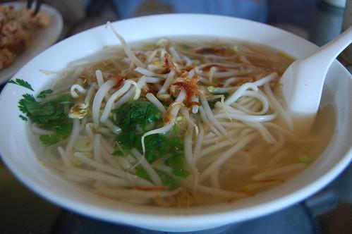 Plain Noodle Soup