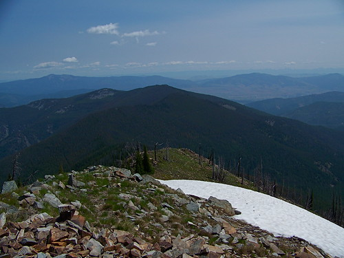 From the top of Penrose Peak.