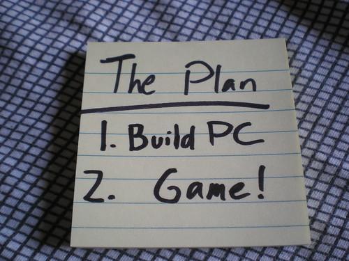 Always have a plan.