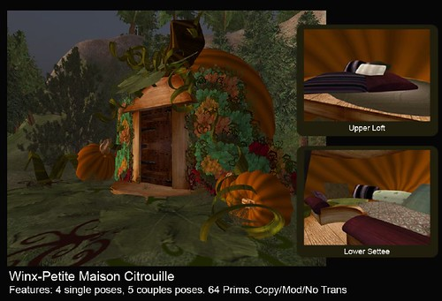 Petite Maison Citrouille-Little Pumpkin House