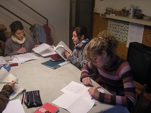 Sant Pere, Silvia, Leyre i Íngrid