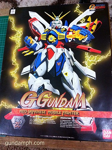 1/60 God Gundam HGEX (aka Burning Gundam)