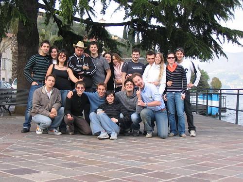 Foto di Gruppo - lago d'Iseo - 26 aprile 2008