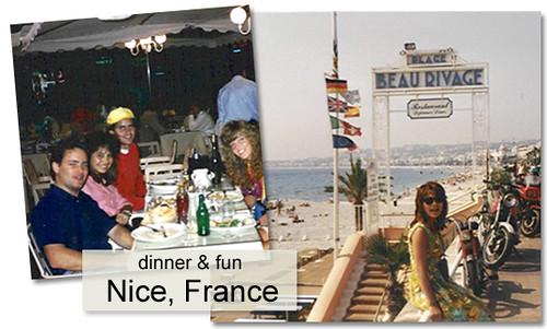 Jo in France Sep 1989