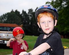 Jacob, the serious biker