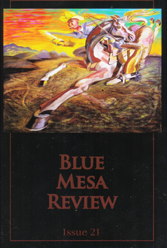 Blue Mesa Review Issue 21