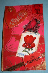 Dreaming in Red Skinny card
