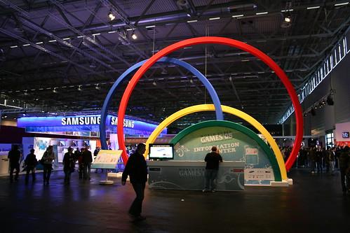 Eingang zu den World Cyber Games 2008