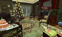 Living room in Summer Gildeas home