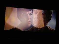 Mr. Spock, double exposure
