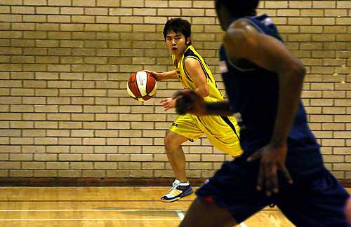 Men's Basketball vs. Newcastle , Alexandru Hristea, 26 (3)