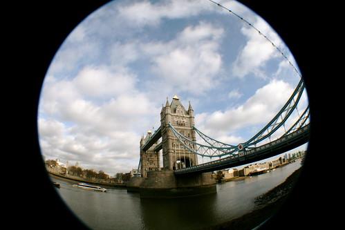 Tower Bridge - Fish Eye