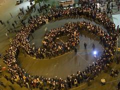 Dia de la No-violencia en Santiago / Nonviolen...