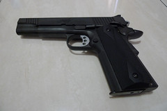 Colt 1911 Kimber, EV+1 + external flash