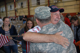 76th Brigade Soldiers return from Iraq