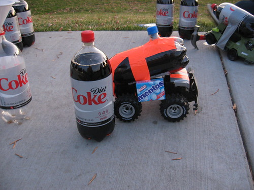 Mentos Powered Car (3)