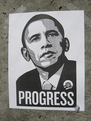 Obama by Shepard Fairey, Creative Commons