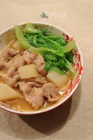 蝦高湯豬肉味噌烏龍麵