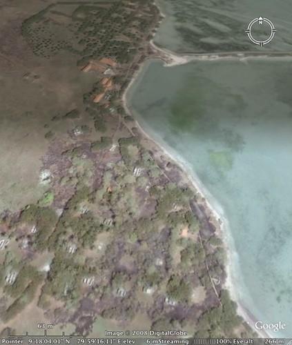 Iranaitivu island north