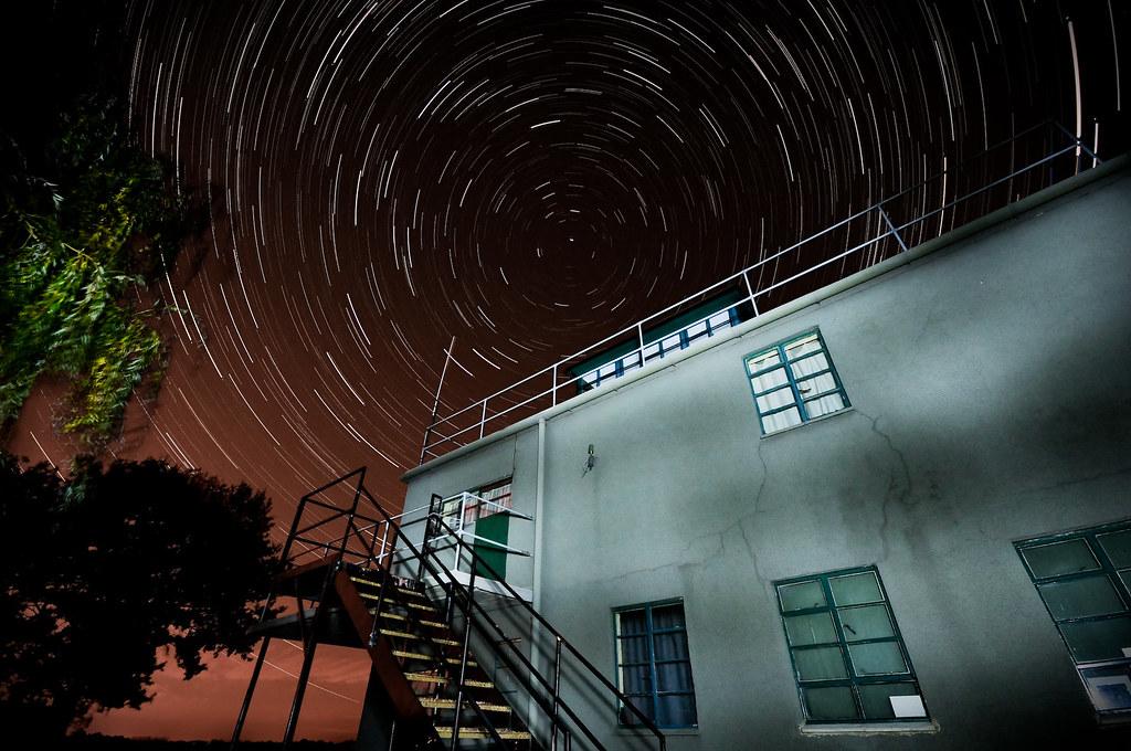 por Andrew Stawarz - Exposición: Compuesto de 100 disparos - cada uno de 30 segundos