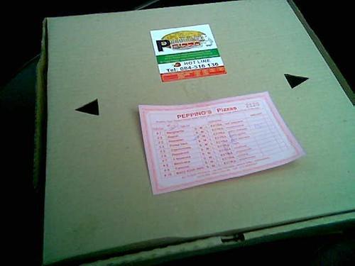 Peppino's Pizza takeaway