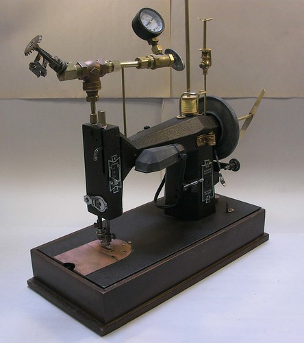 Steampunk Sewing Machine