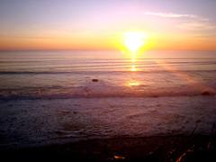 Sunset from the Coast Starlight