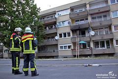 Wohnungsbrand Goerdelerstraße 31.05.11