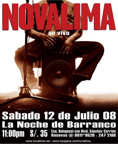Afiche Novalima