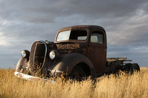 Rusty old 1939 Ford Truck Edit by dave_7.