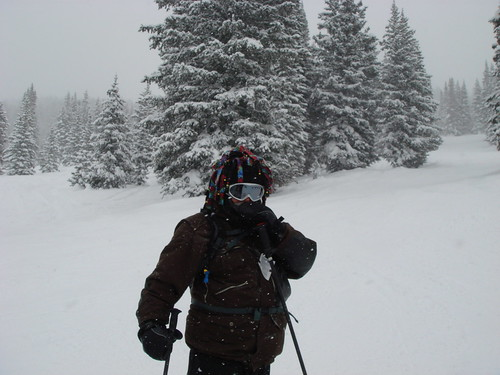 "Jim at Vail - ""A Snowy Day"""