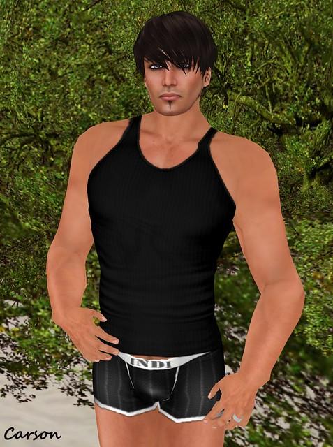 INDI -Black Undershirt  ($1L)