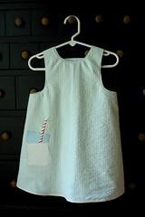 milk dress front