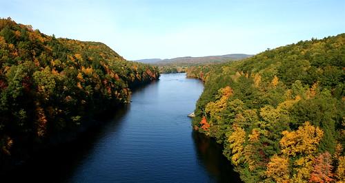 CT River Foliage